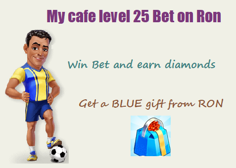 my cafe bet on ron